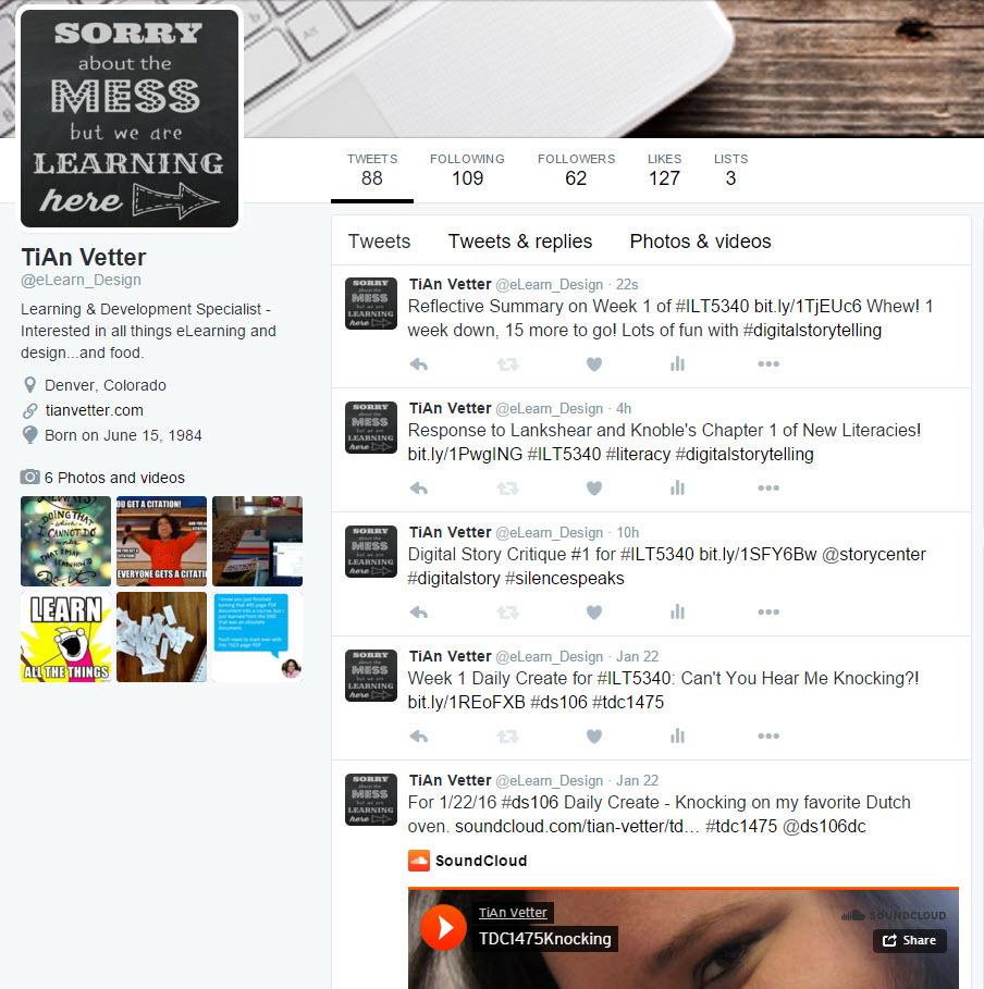 eLearn_Design Twitter feed