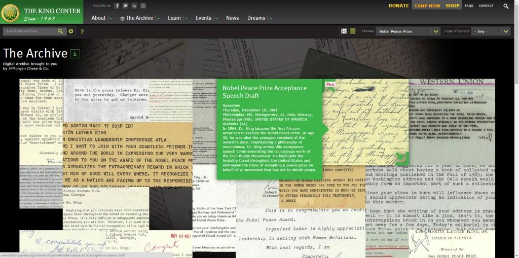 Archive Screenshot